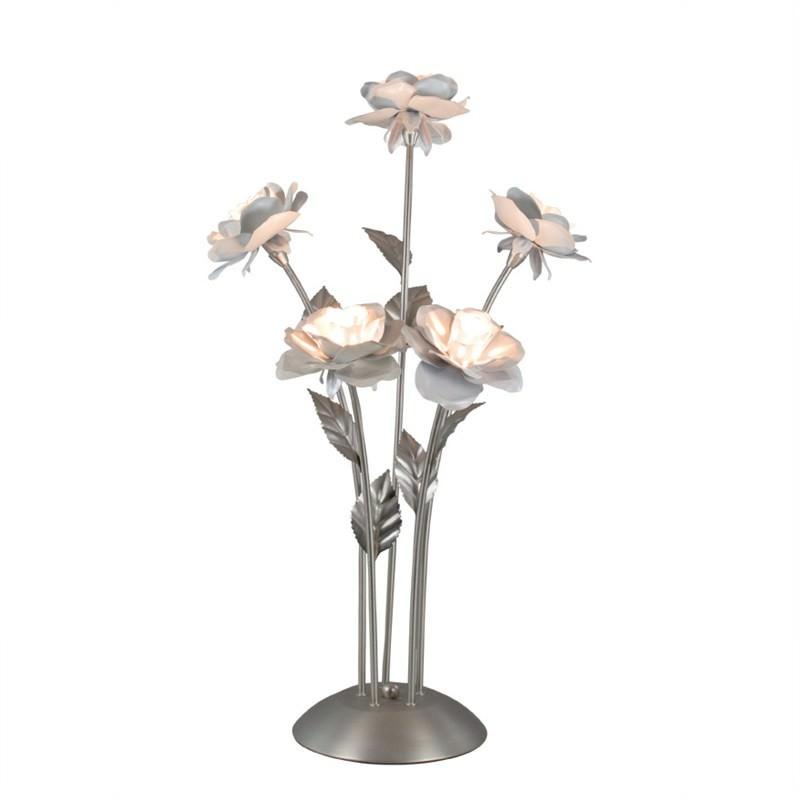 Rose 5 Light Table Lamp