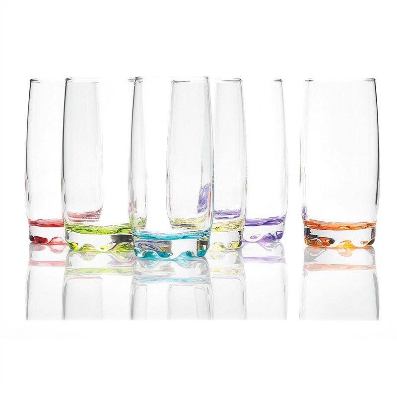 Prism Set of 6 Wave Long Drink