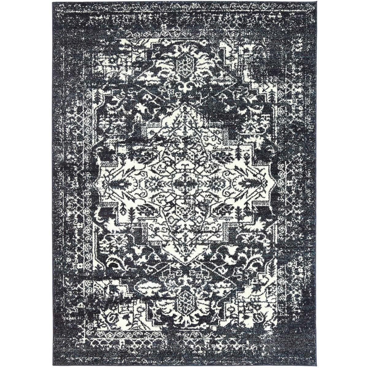 Symphony Viva Oriental Rug, 160X230cm, Navy