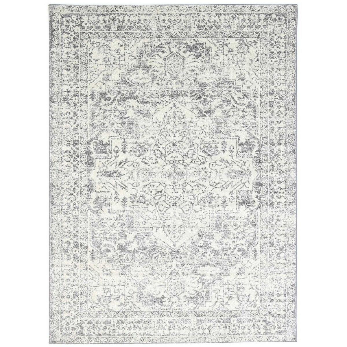 Symphony Viva Oriental Rug, 200x290cm, Grey