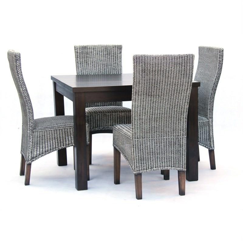 Newport 5-piece Solid Mahogany Timber Dining Set