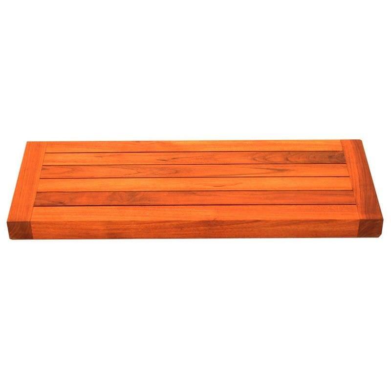 Bath Teak Solid Teak Timber Bathroom Wall Shelf