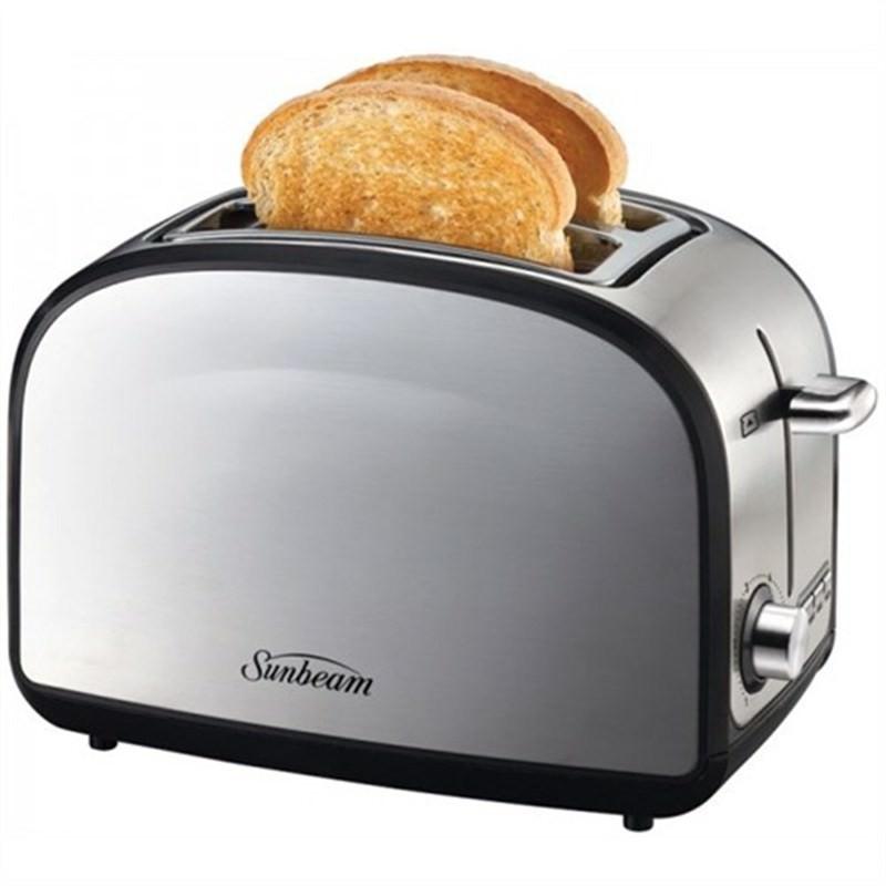 SUNBEAM Toastum 2 Slice Brushed Stainless Steel Toaster TA6220
