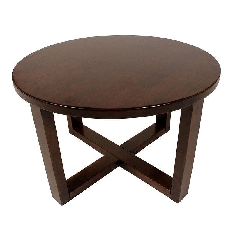 Chunk Commercial Grade 70cm Coffee Table - Walnut