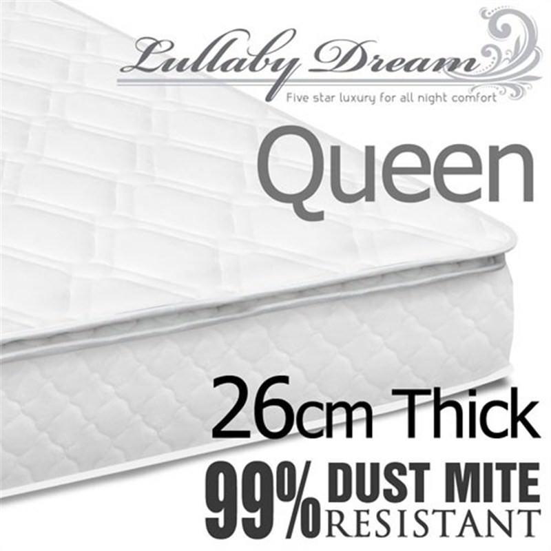 Latex Pillow Top Pocket Spring Mattress Queen