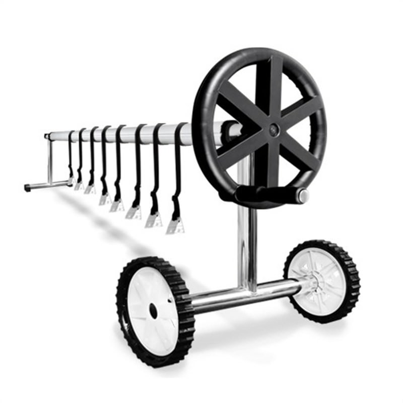 Swimming Pool Cover Roller Reel with Wheels