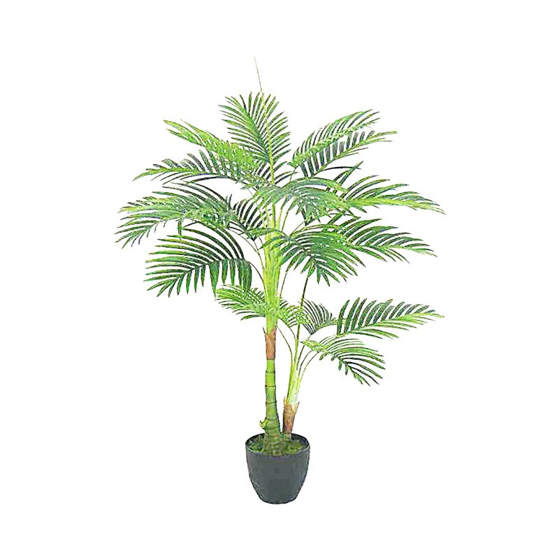 Potted Artificial Areca Palm Tree, 110cm