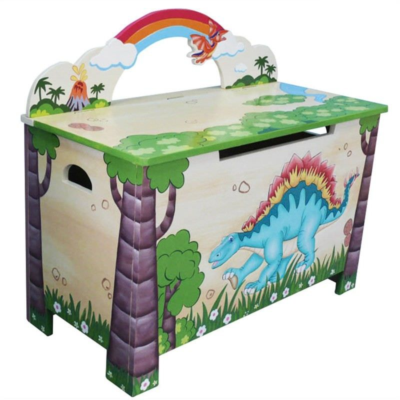 Dinosaur Toy Box