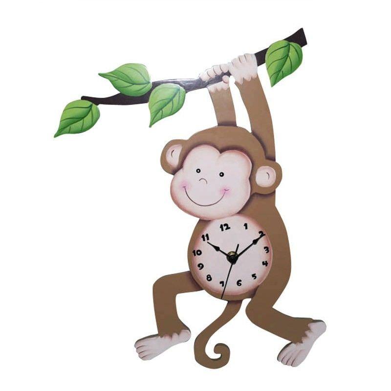 Sunny Safari Wall Clock