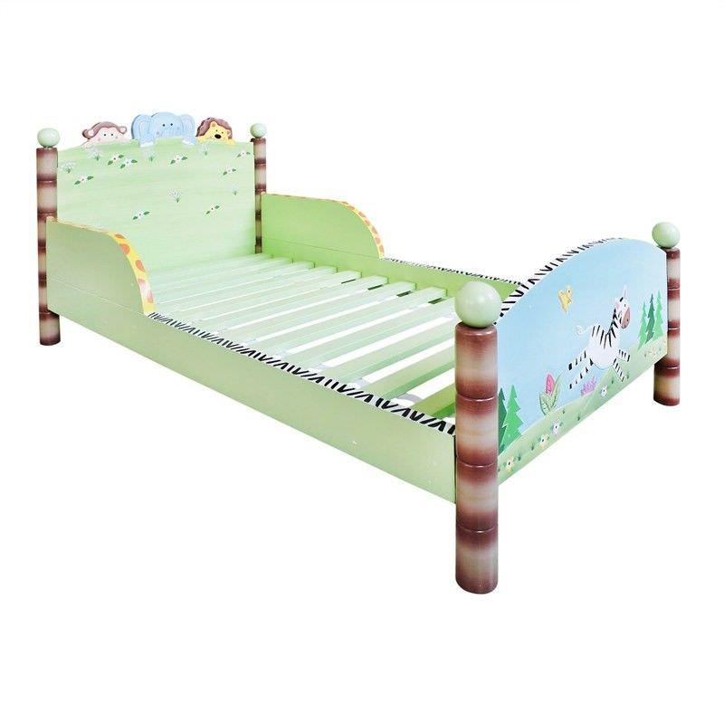 Teamson Fantasy Fields Sunny Safari Toddler Bed