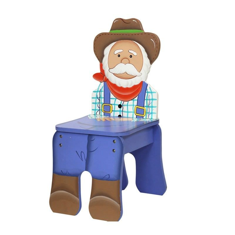 Teamson Happy Farm Room Novelty Chair - Farmer