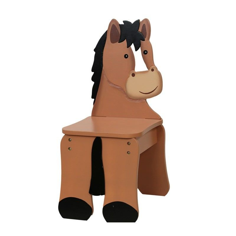 Teamson Happy Farm Room Novelty Chair - Pony