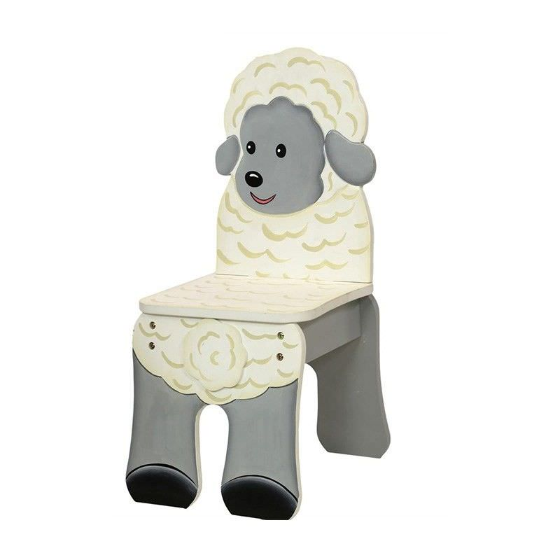 Teamson Happy Farm Room Novelty Chair - Sheep