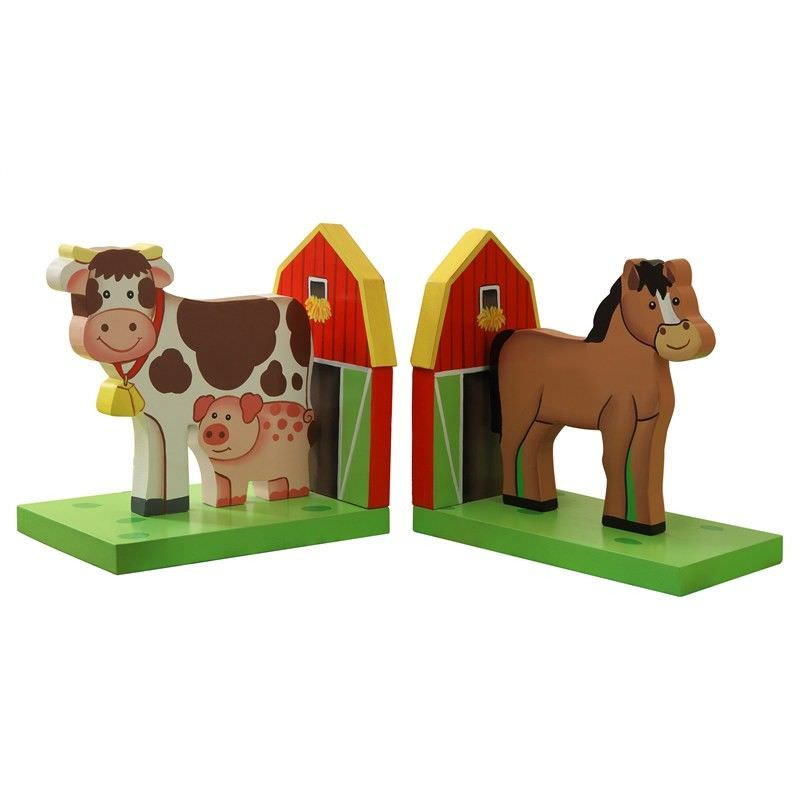 Teamson Happy Farm Room Bookends