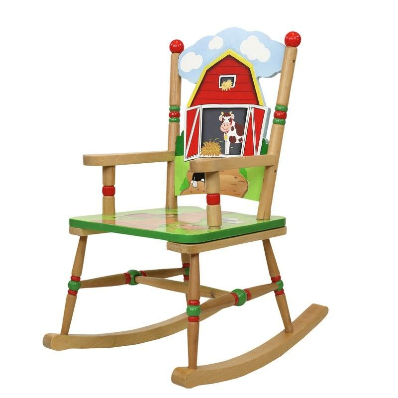 Teamson Happy Farm Room Rocking Chair