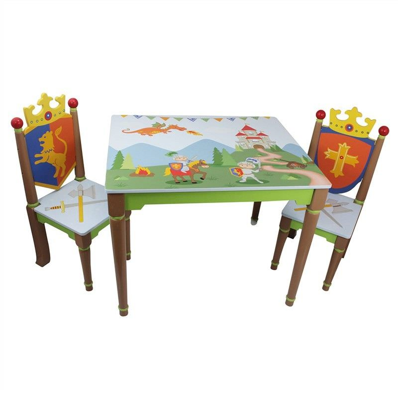 Fantasy Fields by Teamson Knights & Dragon Kids Table & 2 Chairs Set
