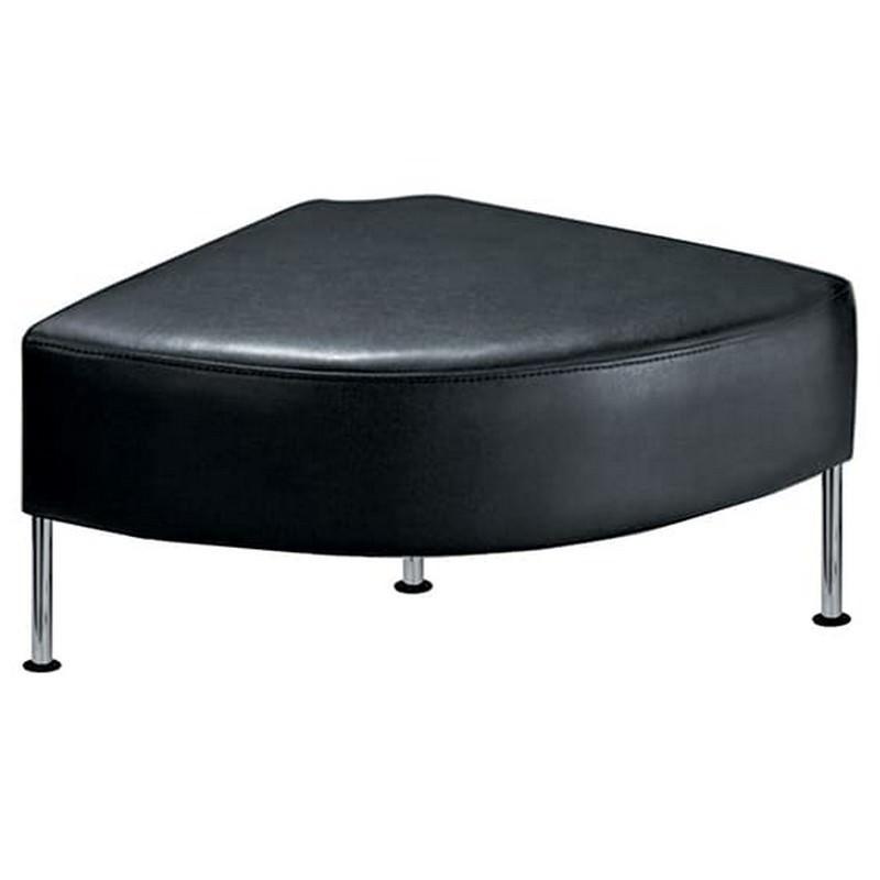 Techno PU Leather Corner Ottoman Bench