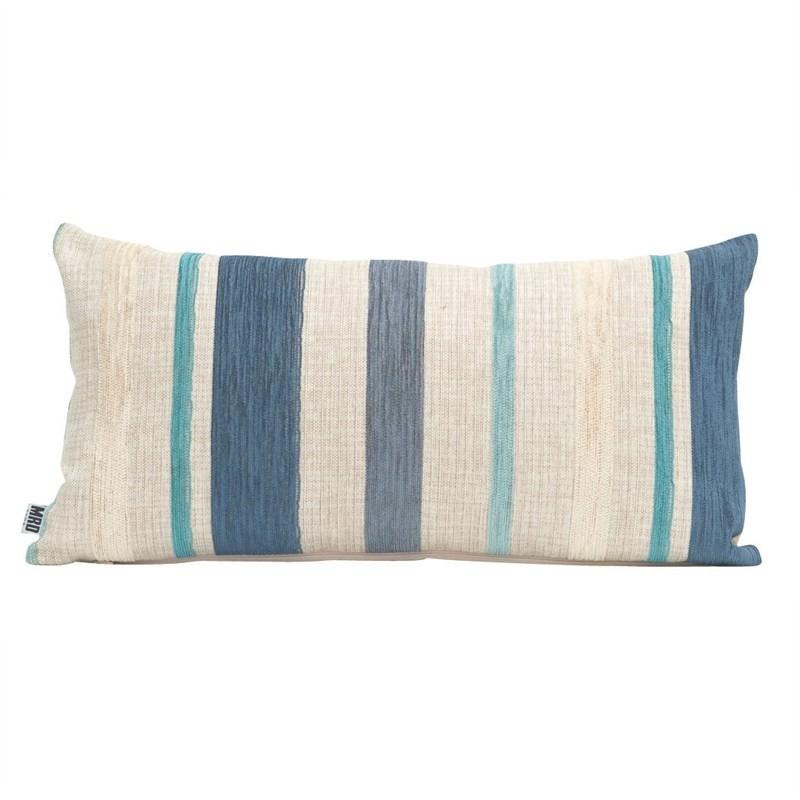 Emporium Stripe Pillow Cushion Blue