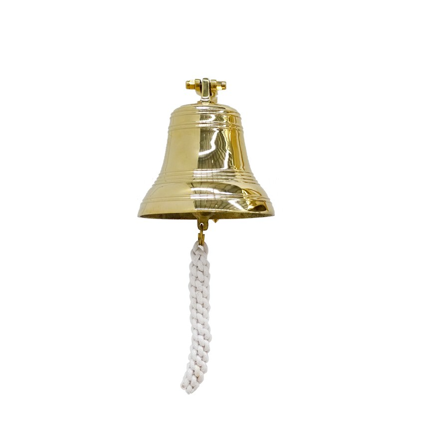 Cluden Brass Hanging Bell, Small