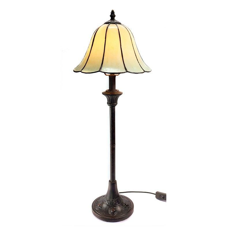 Cosmo Tall Tiffany Glass Table Lamp - 68cm