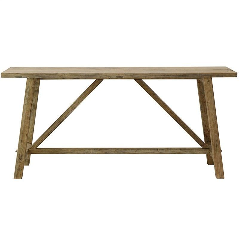 Theodore Reclaimed Elm Timber 170cm Console Table