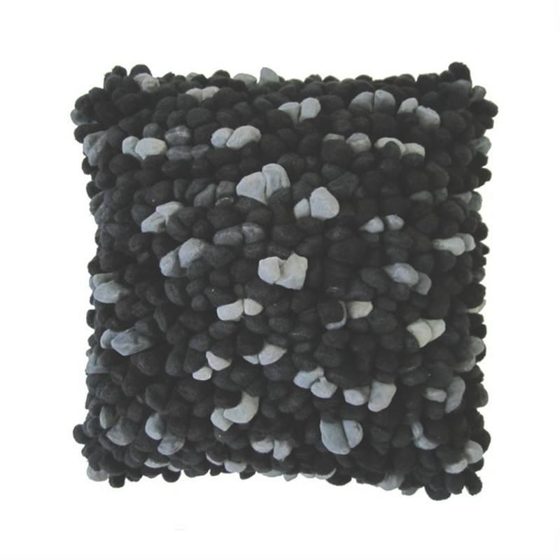 Pebble Cushion Black