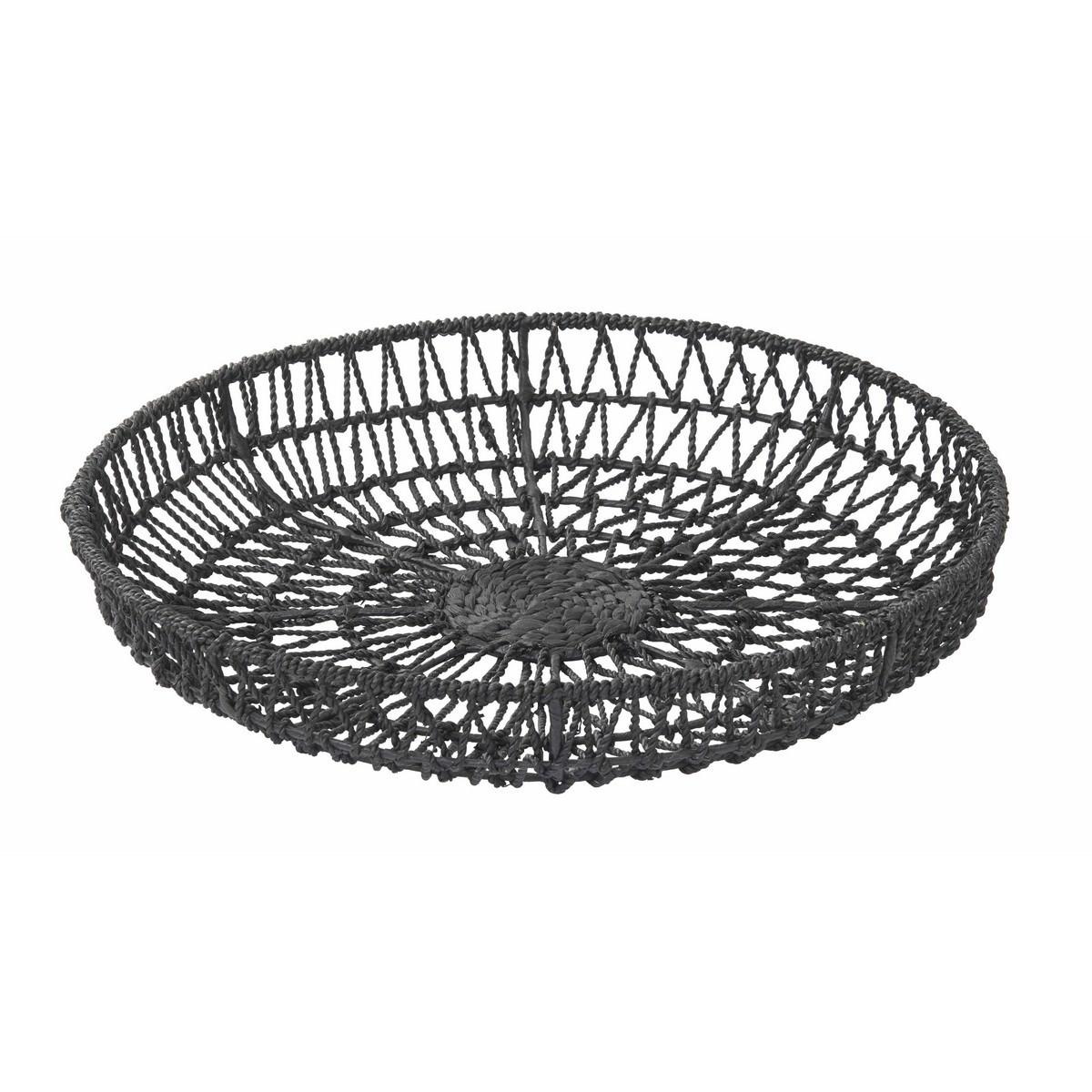 Lenexa Handwoven Water Hyacinth Basket/Wall Decor