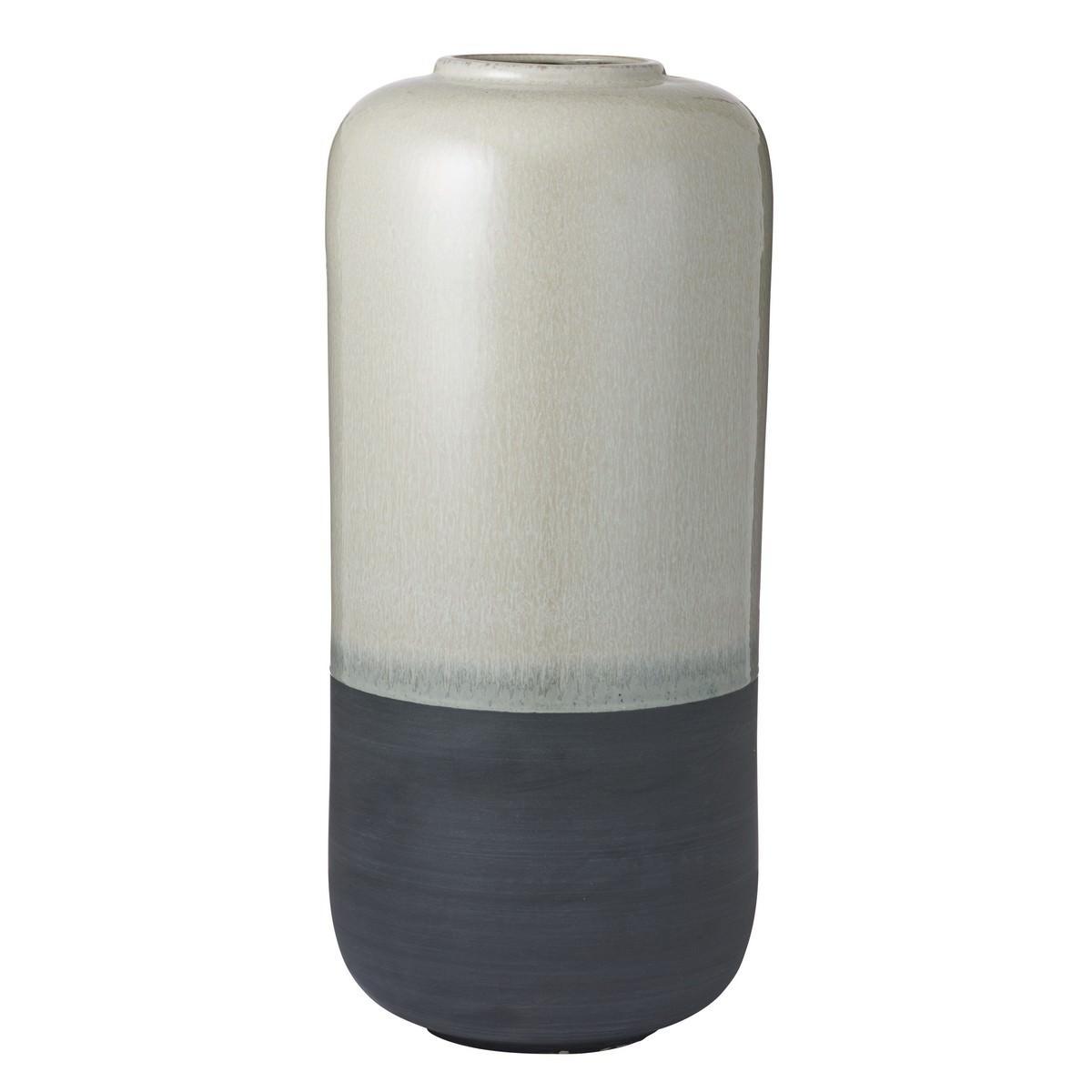 Bede Glazed Earthenware Vase, Large