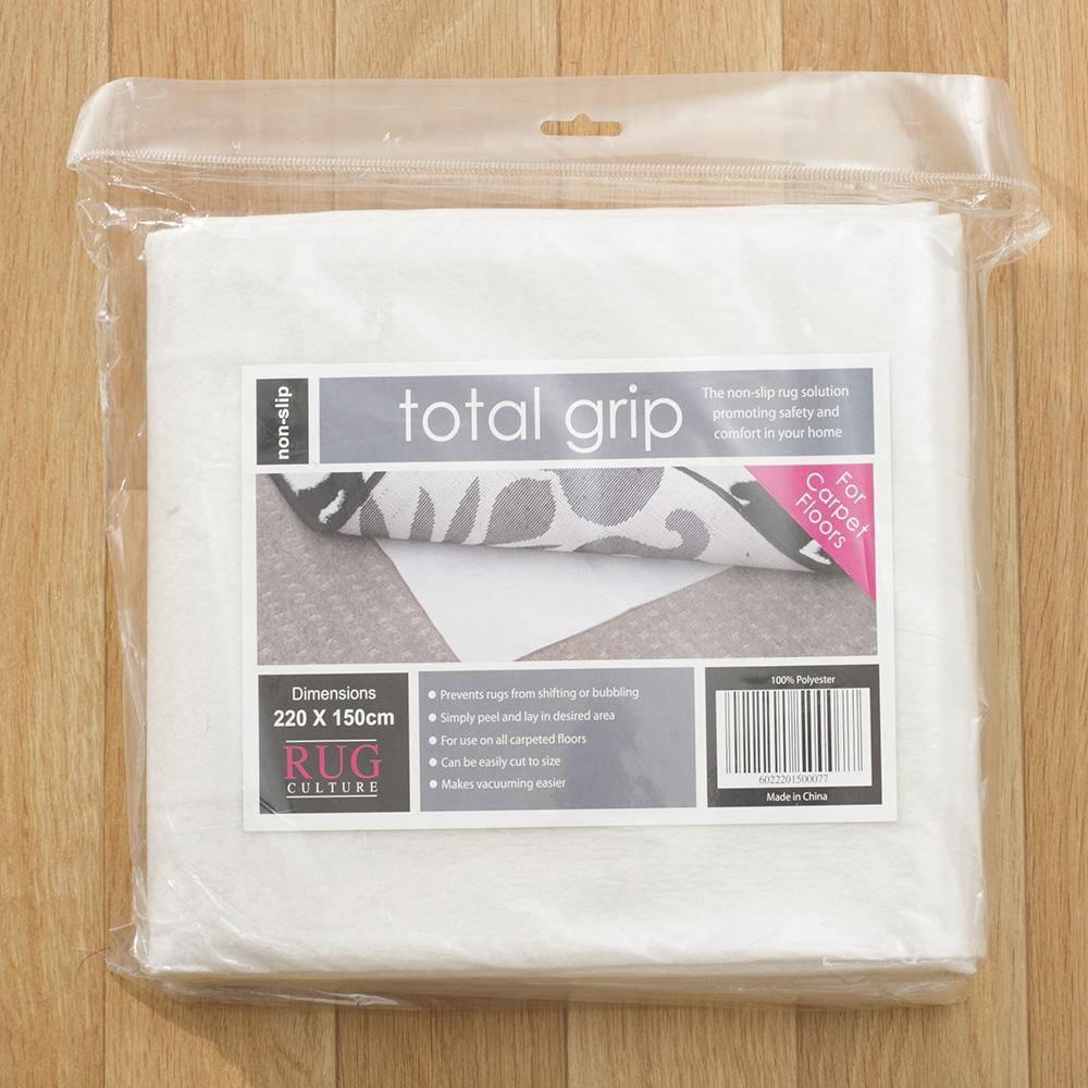 Supa Rug Pad Grip for Carpet Floors, 110x160cm