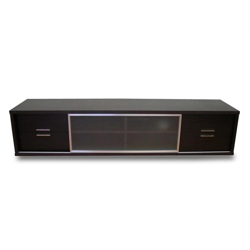 Pazo Lowline Tv Unit - Chocolate Brown Veneer