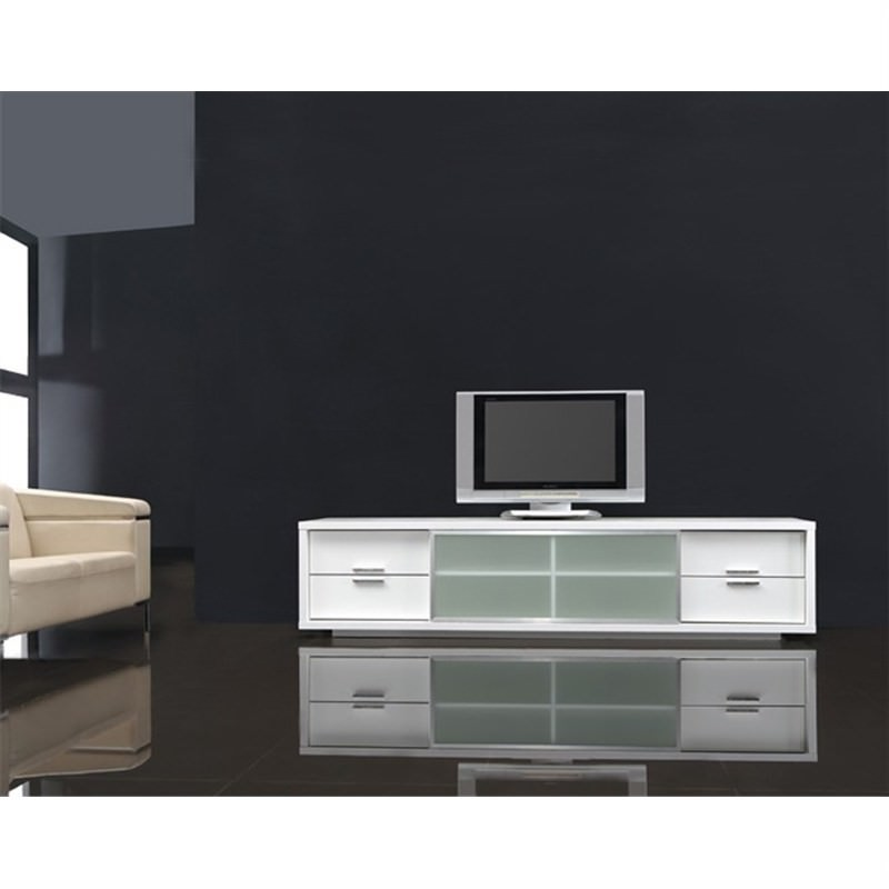 Pazo Lowline Tv Unit - White