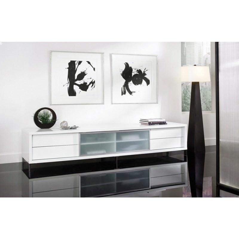 Sachi Lowline TV Unit - White