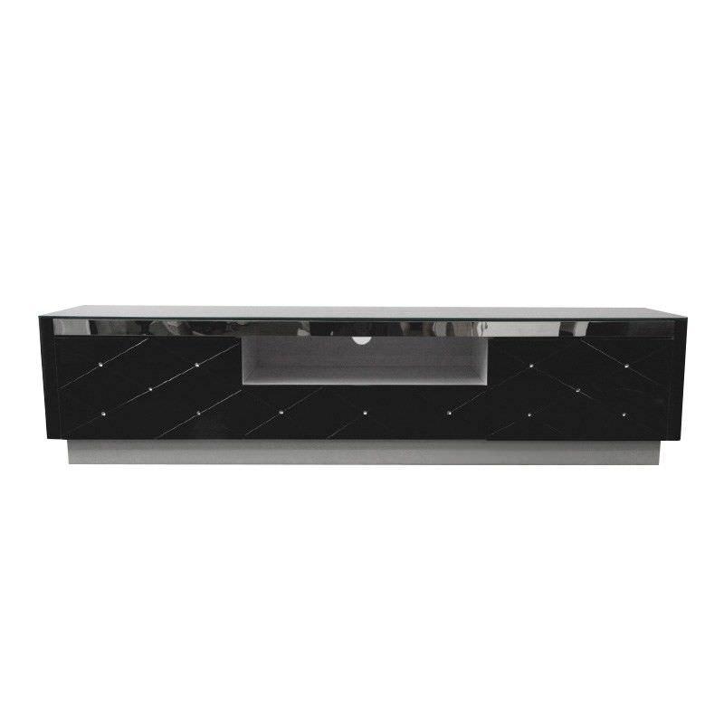 Diamond Lowline Black TV unit - 170x41x39cm
