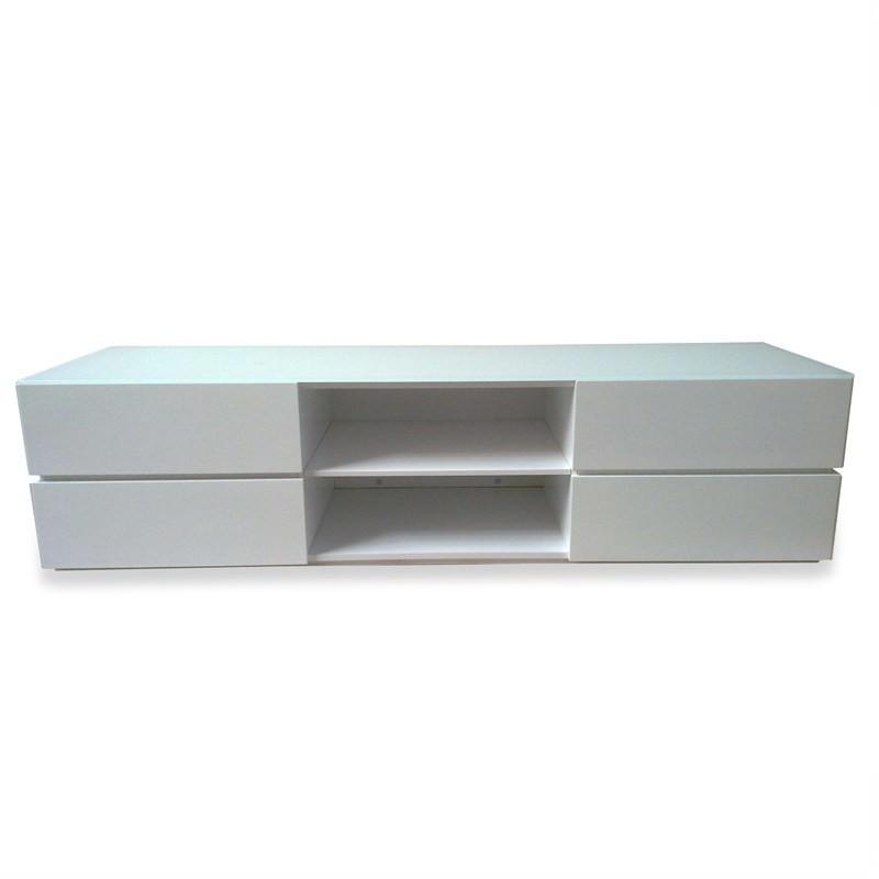 Mezzi Lowline Tv Unit - High Gloss White