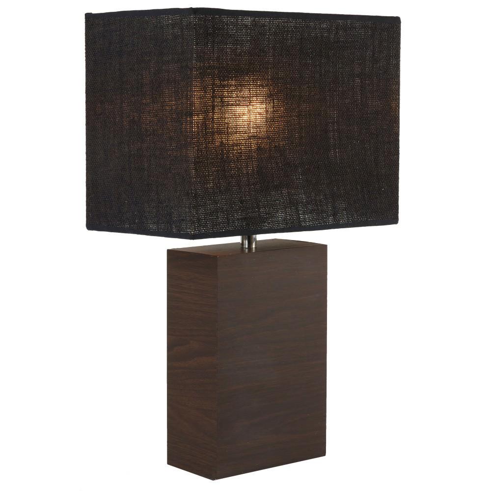 Tahoe Table Lamp, Walnut / Black