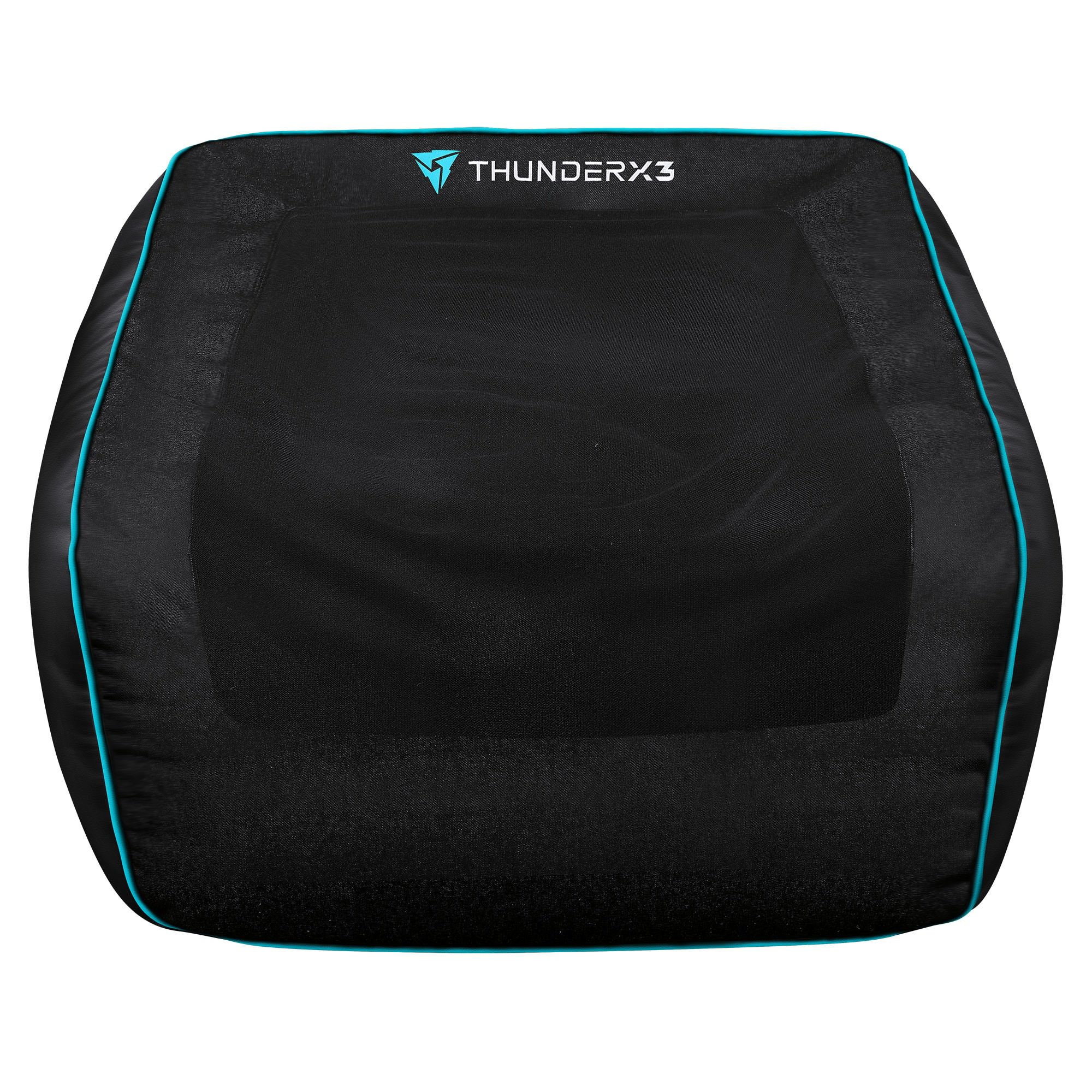 ThunderX3 DB5 Console Gaming Bean Bag Cover, Black / Cyan
