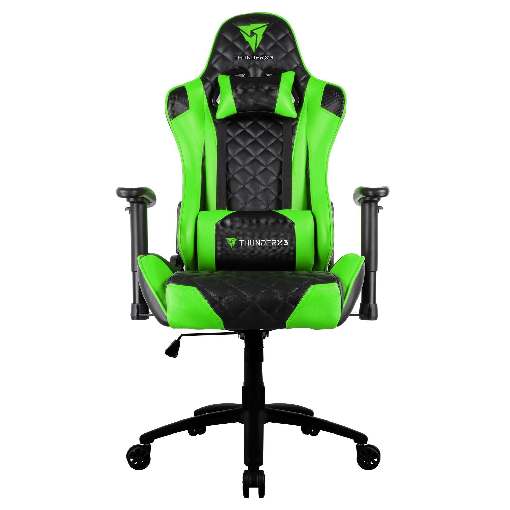 ThunderX3 TGC12 Gaming Chair, Black / Green