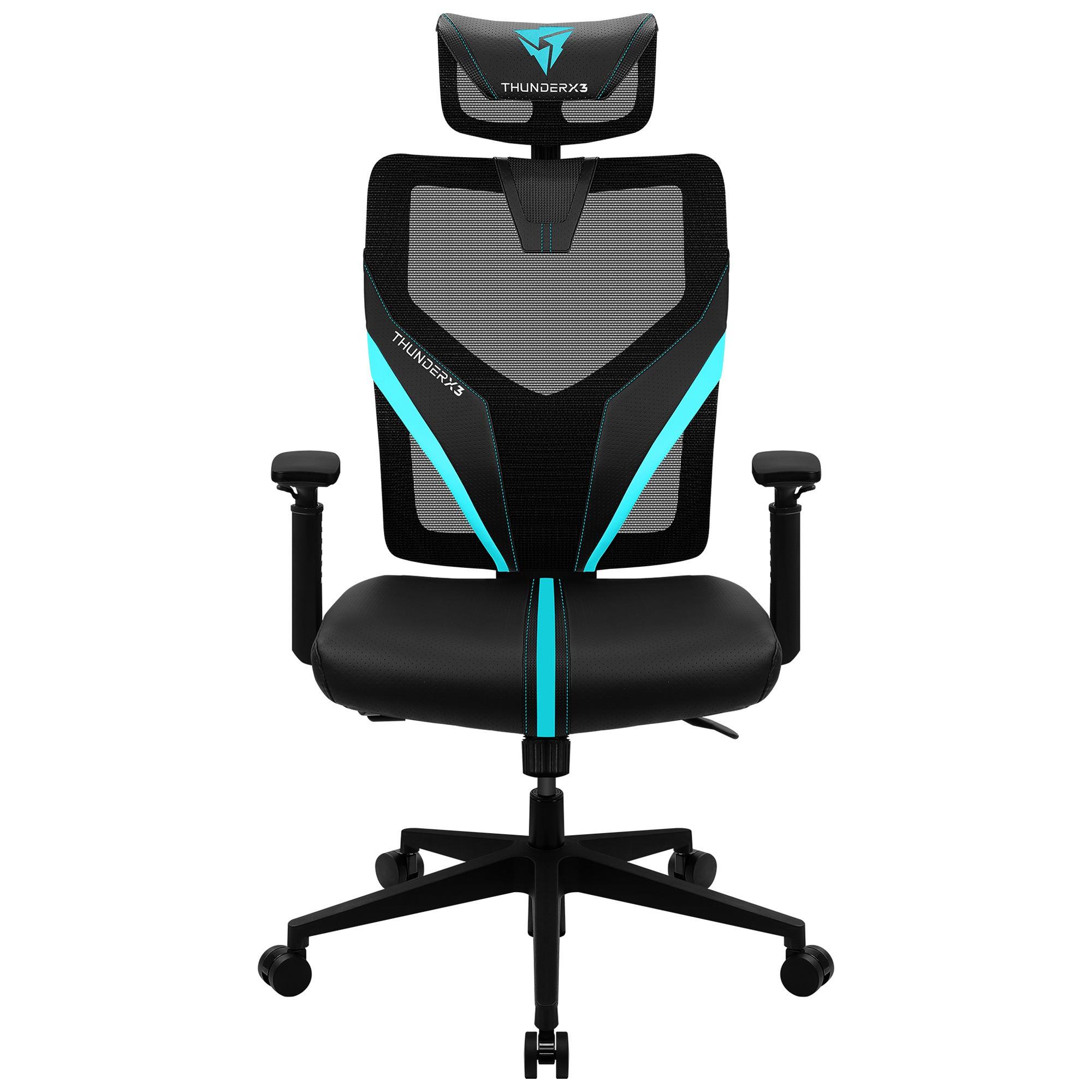 ThunderX3 YAMA1 Gaming Chair, Black / Cyan