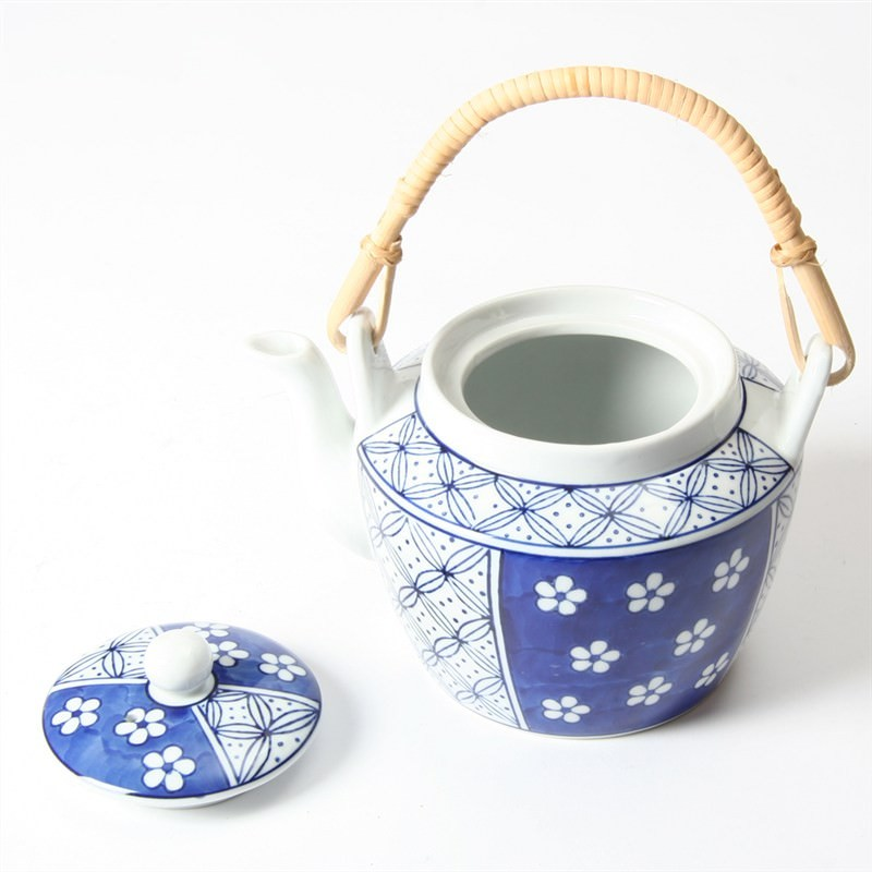 Teapot - Blue and White Pattern