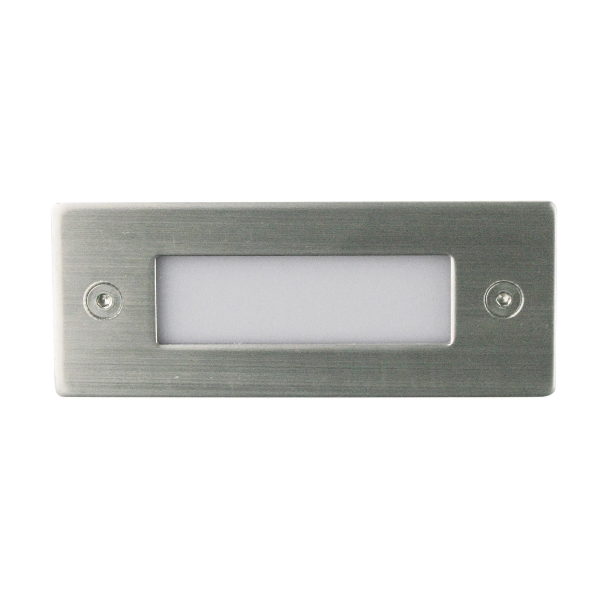 Slot IP54 Indoor / Outdoor LED Recessed Wall Light