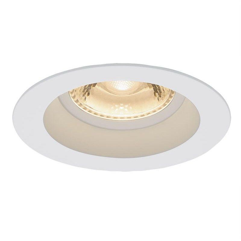 Coast Ip44 Recessed 3000K 6W LED Downlight - White (Oriel Lighting)