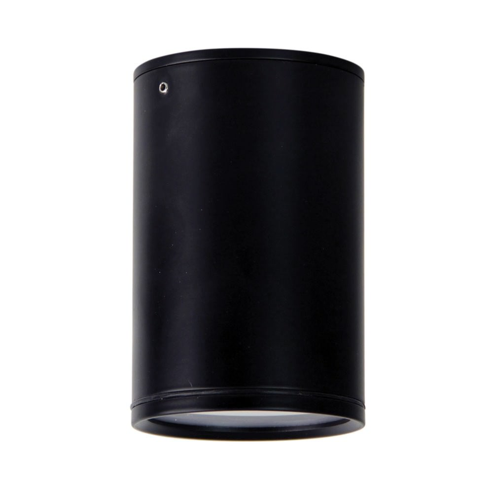Entas IP44 Indoor / Outdoor Surface Mounted LED Downlight, Black