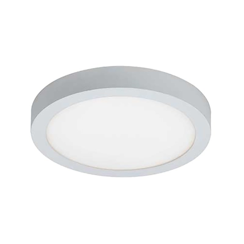 Unos LED Oyster Ceiling Light, 5000K, Round, White