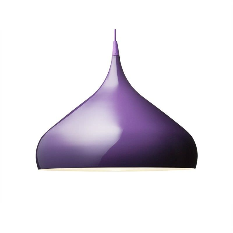 Replica Benjamin Hubert Spinning BH2 Short Pendant Light - Purple