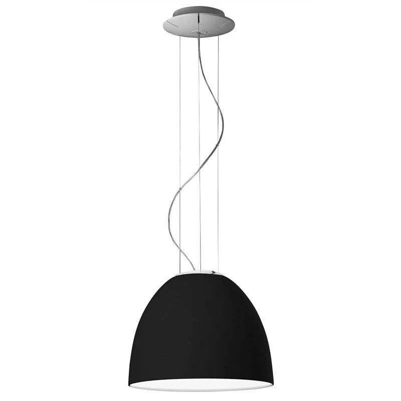Replica Artemide Nur Gloss Black Pendant Light - Medium