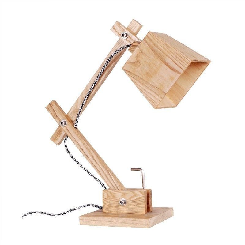 Replica Muuto Ash Wood Timber Table Lamp