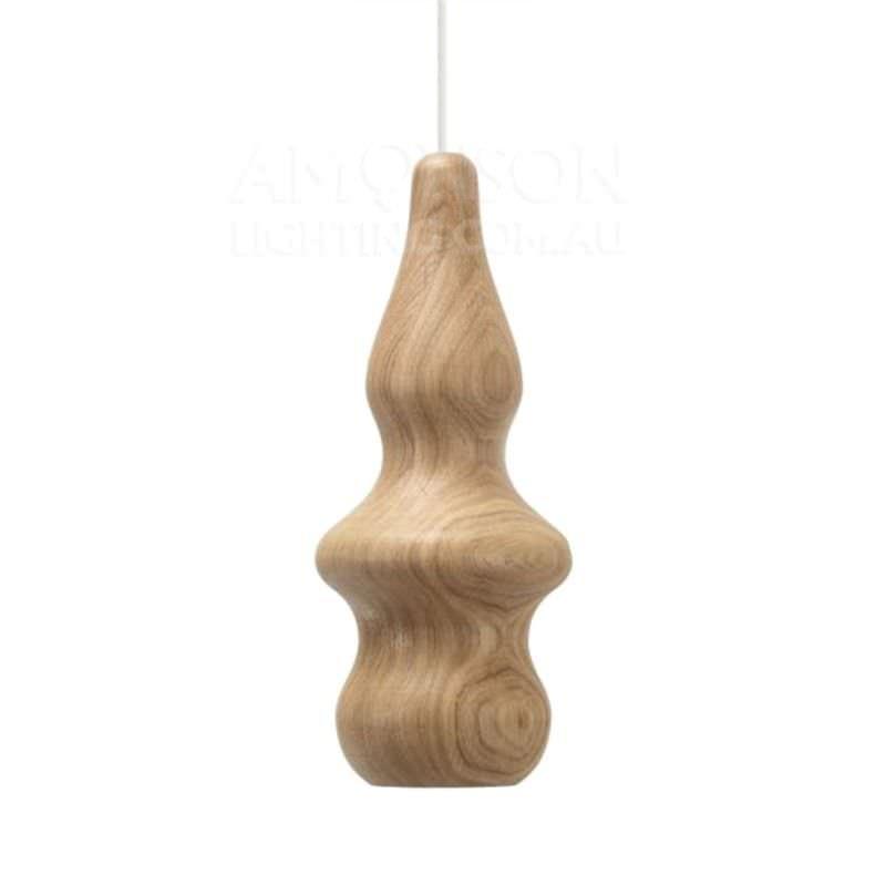 Replica Fermetti Bulb Wooden Pendant Replica - Style D