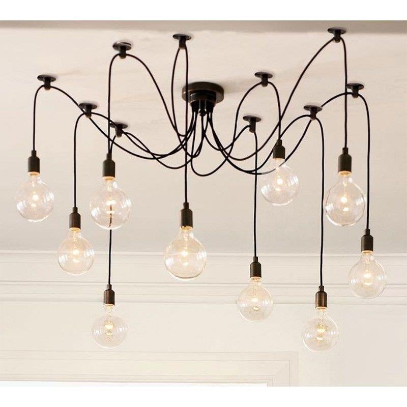 Replica 10 Heads Thomas Edison Bulb Cluster Pendant Light  sc 1 st  Livingstyles & 10 Heads Thomas Edison Bulb Cluster Pendant Light azcodes.com