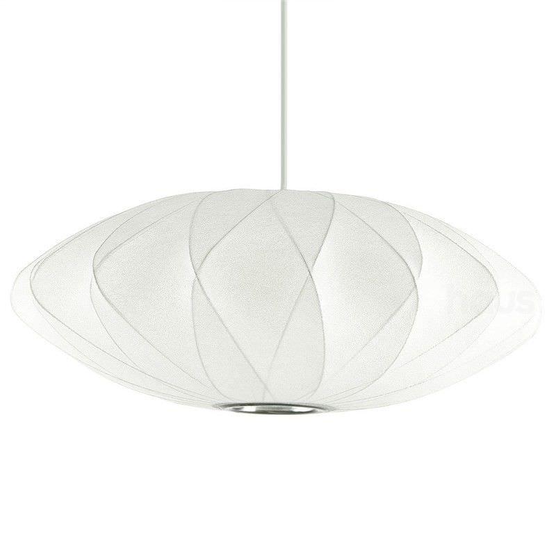Replica George Nelson Bubble Saucer Criss Cross Pendant Light, Large