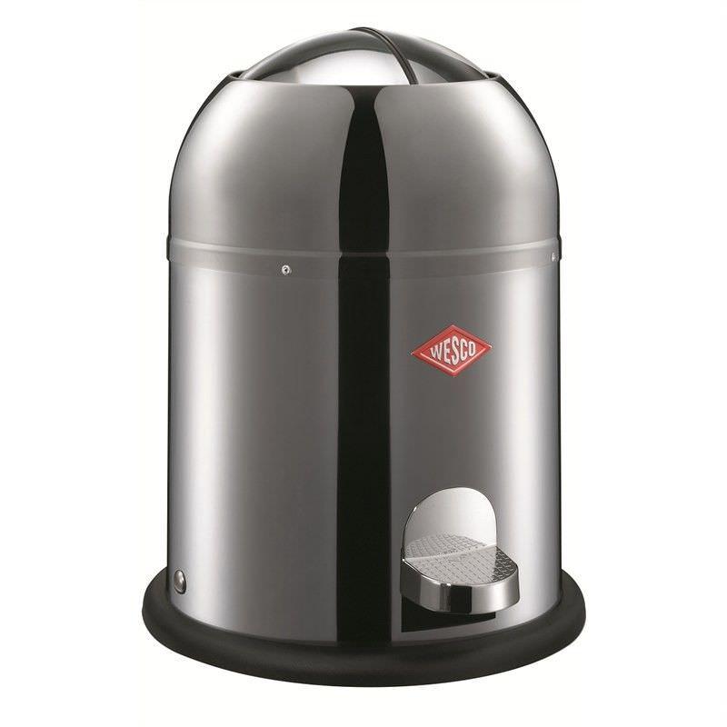 Wesco Single Master Stainless Steel 9L Disposal Bin - Silver